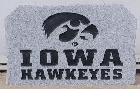 hawkeye on granite